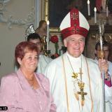 A megyéspüspök Vokány díszpolgára lett
