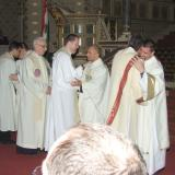 Barics Gábriel papszentelése a Pécsi Bazilikában és újmiséje Vokányban 2011.07.03.