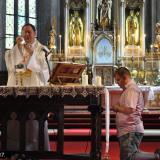 Szentmise a kolozsvári Szent Mihály templomban