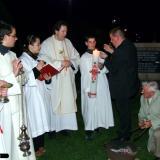 Húsvéti Vigilia fényünnepsége Vokányban
