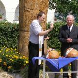 Szent István napi kenyérszentelés Vokányban