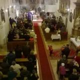 Megkésett Mikulás érkezése a templomba. 2015. december 13.